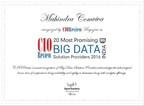 CIOReview reconoce a Mahindra Comviva como uno de los 20 proveedores de soluciones de big data más prometedores