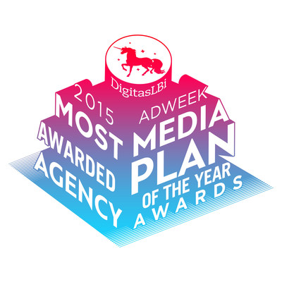 DigitasLBi 2015 Media Plan of the Year Most Awarded Agency