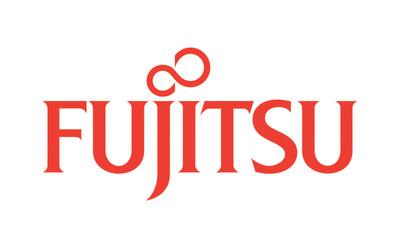 Fujitsu logo.