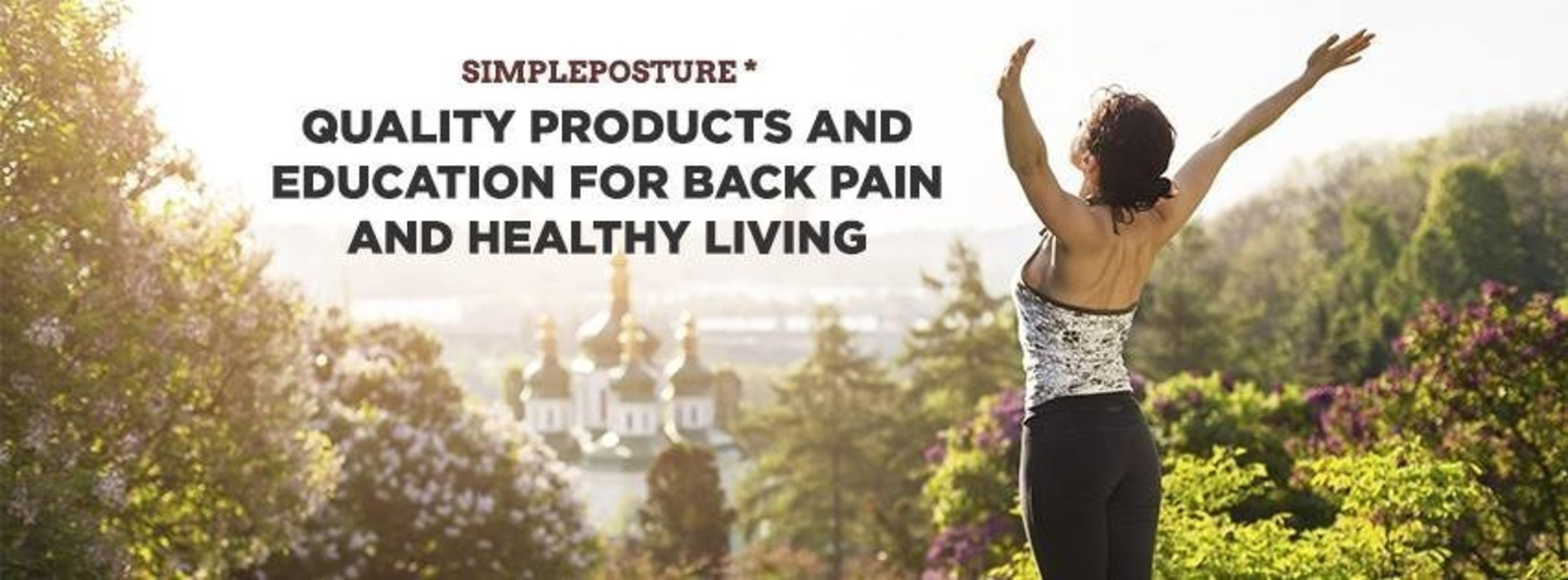 SimplePosture.com - The Online Store for Back Pain Relief