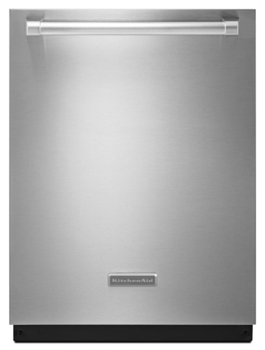 The KitchenAid dishwasher, with advanced sound dampening technology operates at 40 decibels in the normal ...