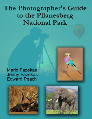 The Photographer's Guide to Pilanesberg National Park e-book cover.  (PRNewsFoto/Kruger-2-Kalahari)