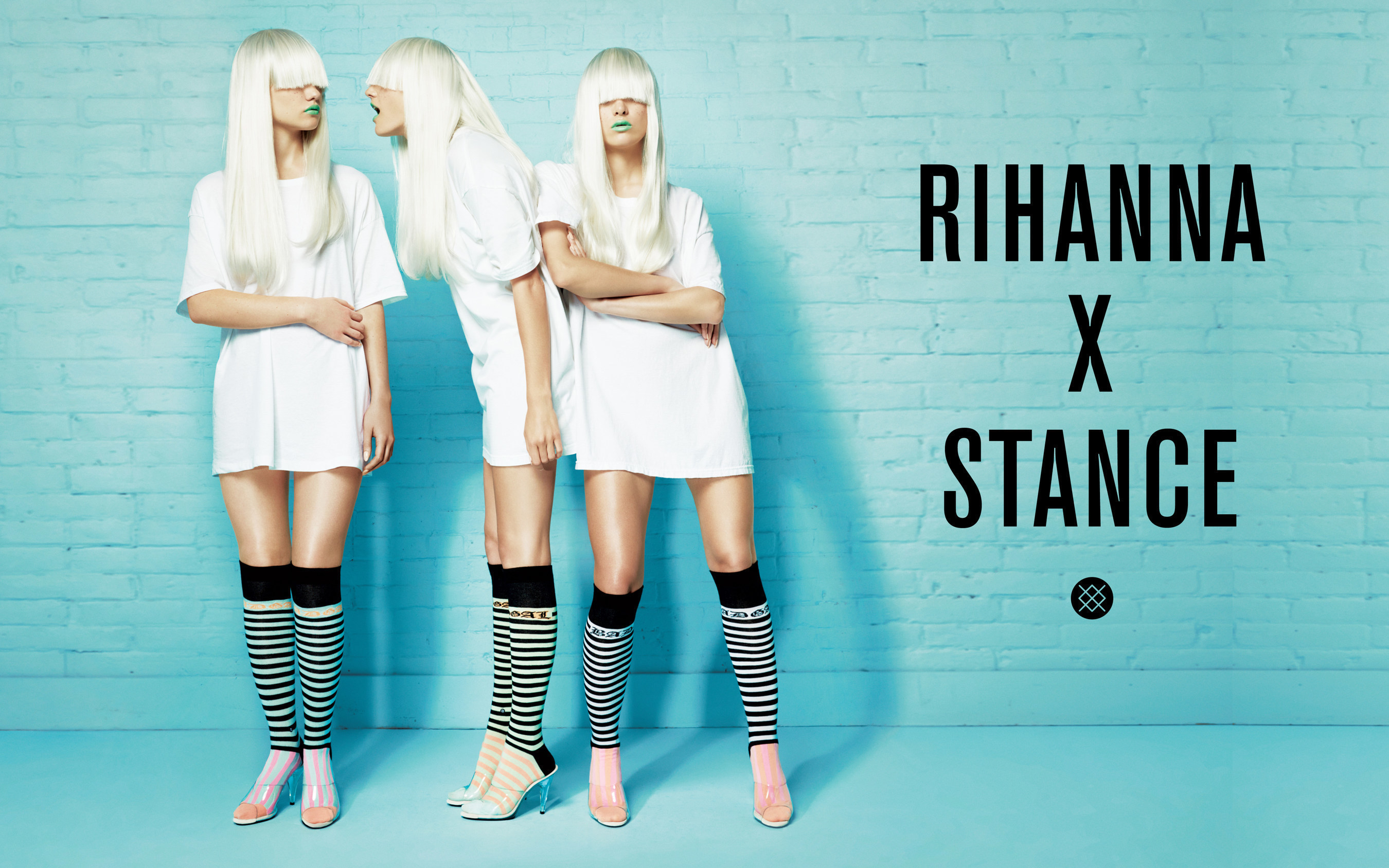 06b482825f0 ... Rihanna s fall collection for Stance is comprised of 15 styles in a  pastel color palette that ...