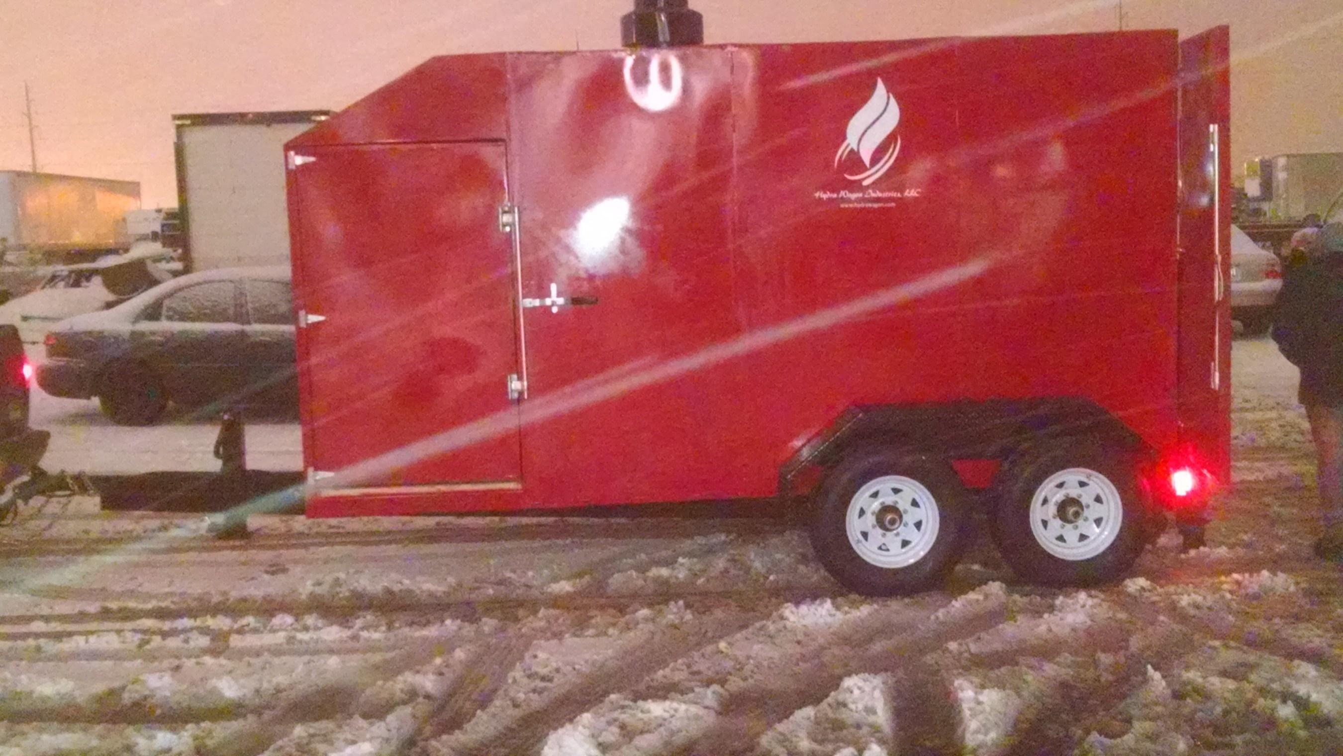 Hydra Wagon Industries Presents Latest Model Portable Heater