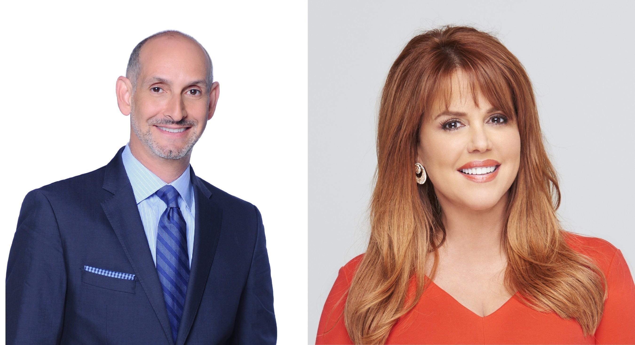 Telemundo's Luis Silberwasser Interviewed by Maria Celeste Arraras During Special Presentation at