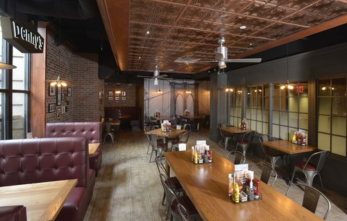 Denny's opens first New York City location, featuring a first-of-its-kind design, exclusive architecture ...