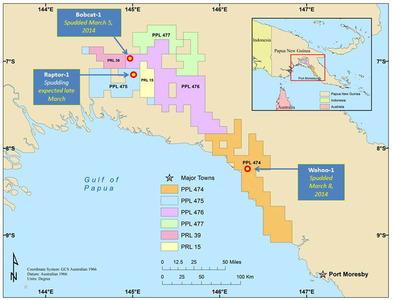 InterOil's Exploration Wells. (PRNewsFoto/InterOil Corporation) (PRNewsFoto/INTEROIL CORPORATION)