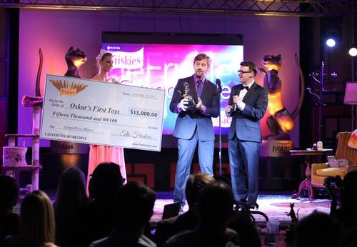 """Oskar's First Toys"" wins grand prize at first ever ""The Friskies"".  (PRNewsFoto/Nestle ..."