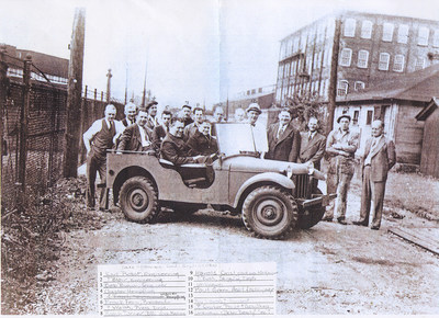 """It is said that """"success has many fathers"""" and in the case of the """"jeep"""" the list of those that have claimed or are sometimes credited with """"fathering the jeep"""" include:  Col. William F. Lee (U.S. Army, Infantry); Charles Harry Payne, sales (American Bantam); Frank Fenn, President (American Bantam); Charles Probst, design engineer (American Bantam); Harold Crist, factory manager (American Bantam); Delmar """"Barney"""" Roos, chief engineer (Willys-Overland) ... any more?"""