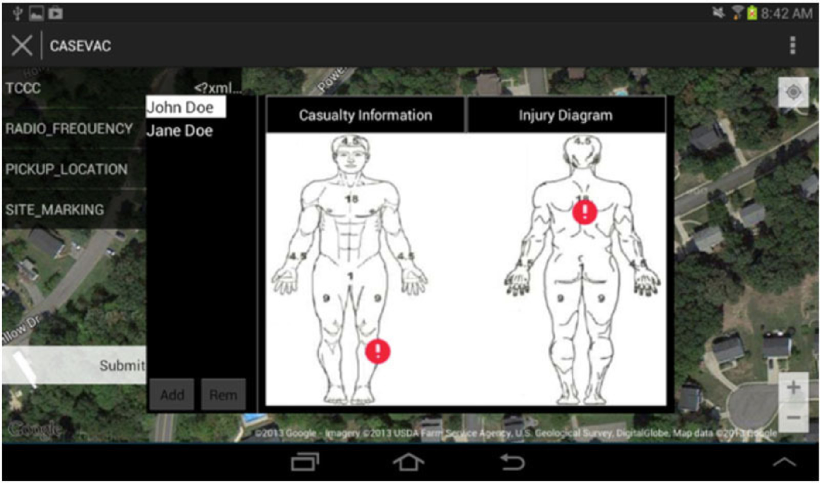 VERTI User Interface.  (PRNewsFoto/Neya Systems LLC)