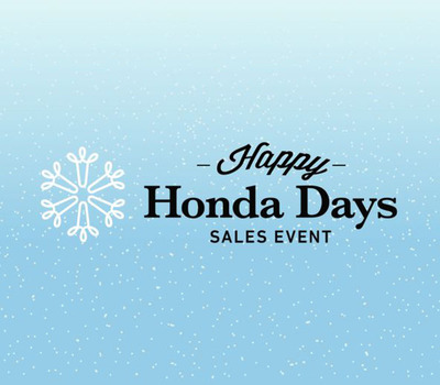 Happy Honda Days is going on now at Howdy Honda.  (PRNewsFoto/Howdy Honda)