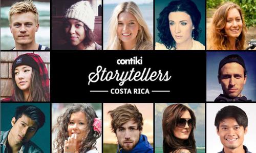 Contiki Storytellers Costa Rica.  (PRNewsFoto/Contiki Vacations)