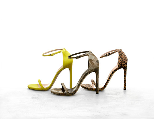 Stuart Weitzman Launches Customization Program With Its Popular NUDIST Sandal.  (PRNewsFoto/Stuart Weitzman)