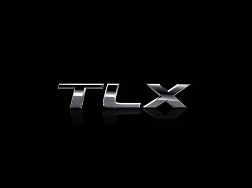 2015 Acura TLX Logo. (PRNewsFoto/Acura) (PRNewsFoto/ACURA)