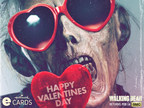 Hallmark eCards partners with AMC's The Walking Dead to create Valentine's Day Cards.