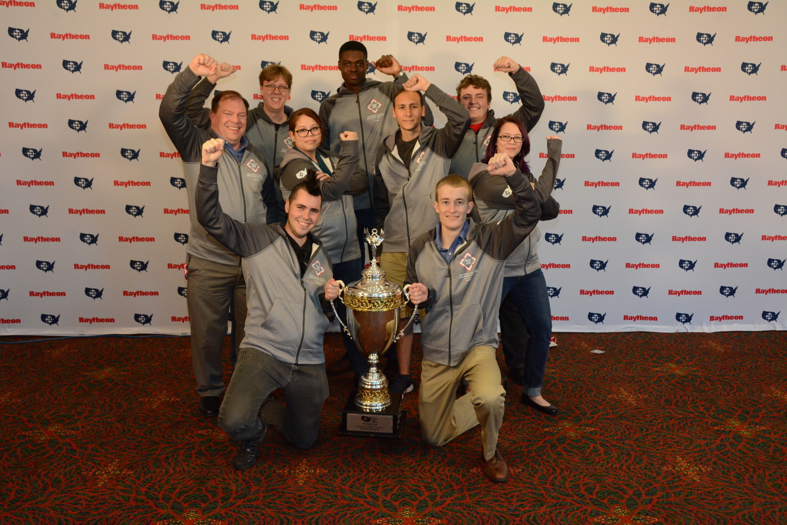 Three-peat: The University of Central Florida wins their third consecutive National Collegiate Cyber Defense Competition Championship.