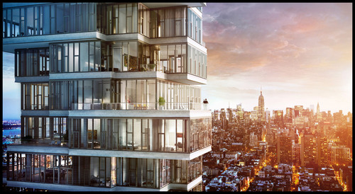 56 Leonard Street Launches Sales in New York City -- Iconic Herzog & de Meuron Tower Begins Rise in Tribeca. ...