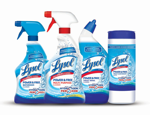 LYSOL® Launches Line of Hydrogen Peroxide Products That Marks a New Era in Household Cleaning