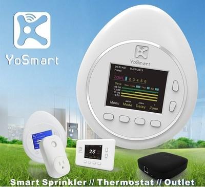 Smart Home devices: Sprinkler // Thermostat // Smart Outlet