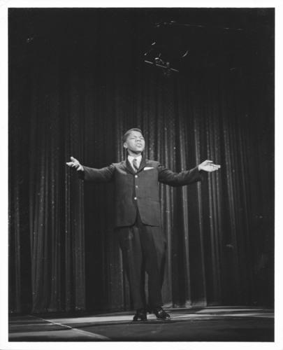 Frankie Lymon.  (PRNewsFoto/TJL Productions)