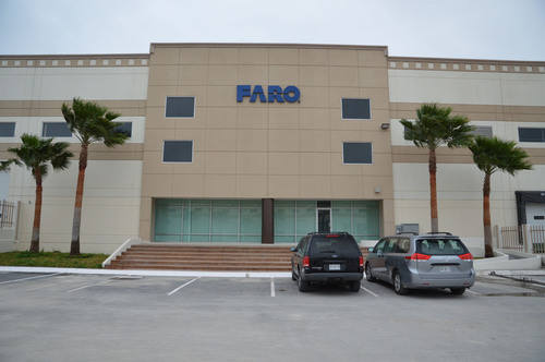 The FARO Mexico Service Center located near Monterrey, Mexico.  (PRNewsFoto/FARO Technologies, Inc.)