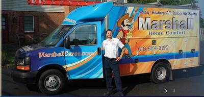 Marshall Home Comfort Donates $6,500 to The Children's Hospital of Philadelphia