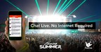 Chasing Summer Festival and FireChat Team Up For Live Communications Without Signal