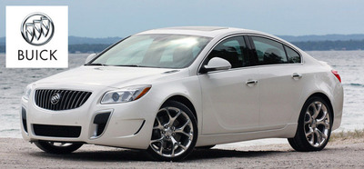 The new 2013 Buick Regal is ready to show off in San Antonio.  (PRNewsFoto/Cavender Buick GMC West)