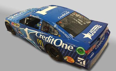 Credit One Coke Zero Car