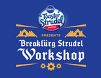 Participate in the Breakfurg Strudel Workshop by Tweeting How You Get Your Morning Moving, Including #StrudelArt.  (PRNewsFoto/Pillsbury Toaster Strudel)