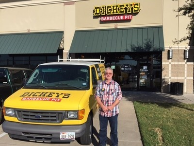 Owner/Operator Kyle Clifton opens Dickey's Barbecue Pit in Grand Prairie on Thursday