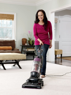 Introducing the new BISSELL CleanView vacuum with OnePass Technology.  (PRNewsFoto/BISSELL Homecare, Inc.)