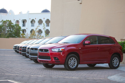 Outlander Sport will be built at the MMNA manufacturing facility in Normal, Illinois in mid 2012. Outside of the U.S., Outlander Sport is sold as the RVR (Japan) and ASX (Europe) entry-level crossover utility vehicle.  (PRNewsFoto/Mitsubishi Motors North America, Inc., Jason Chatterley)