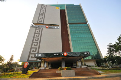 Head office of Fidelity Bank Ghana in Accra, the Ghanaian capital.