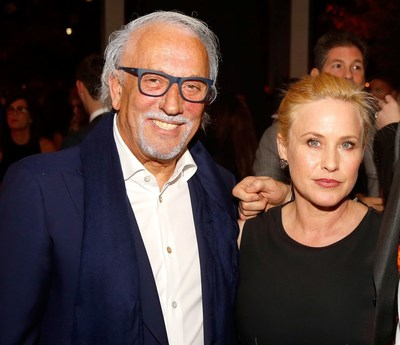 Roberto Coin and Oscar Nominee Patricia Arquette // Photo Courtesy of Colin Young-Wolff