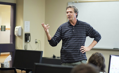 Hillsdale College accounting professor Dr. Michael Sweeney receives the 2016 Michigan Association of CPA's (MICPA) Accounting Teaching Excellence Award.