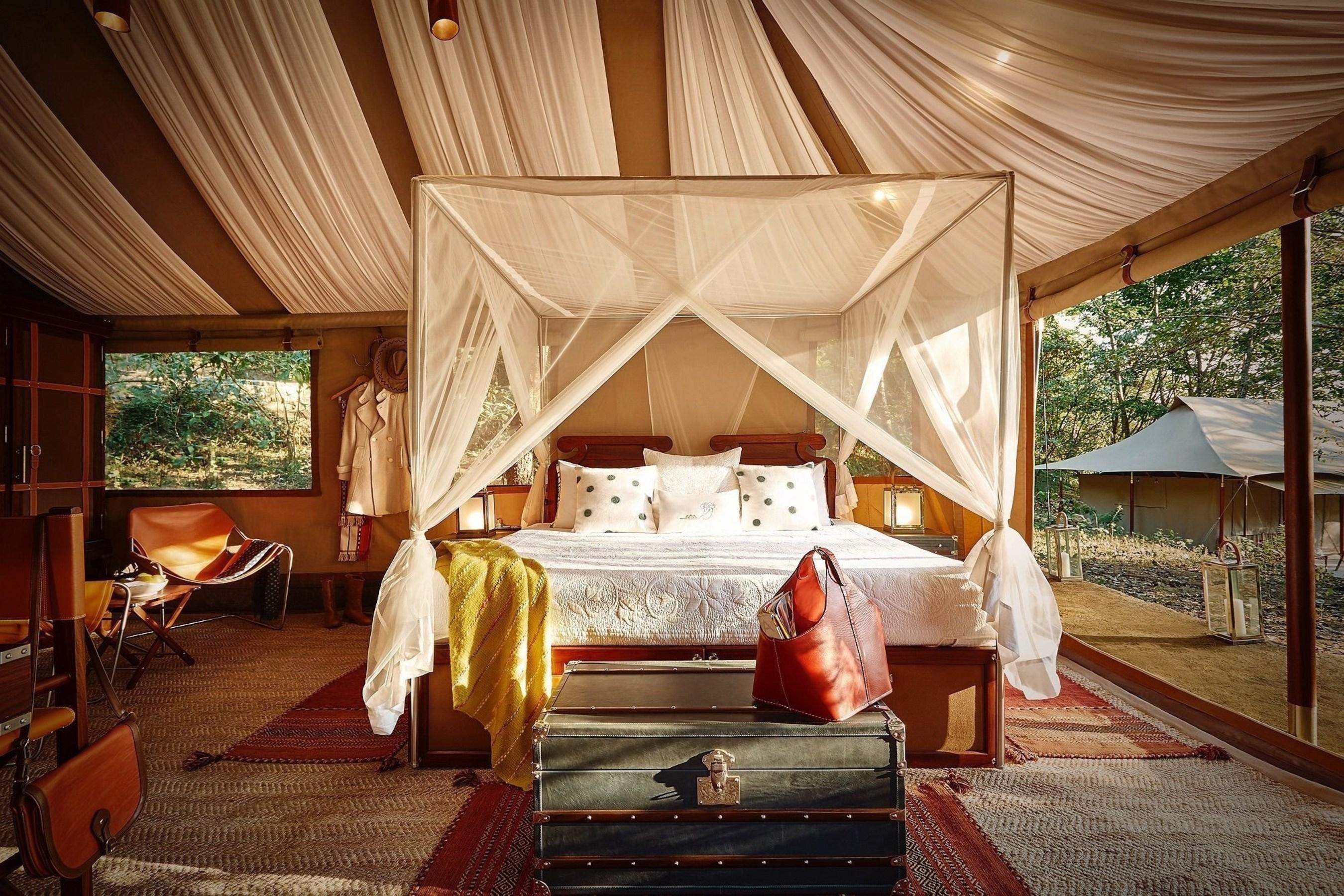 TUTC's luxurious camp in Kohima, Nagaland (PRNewsFoto/The Ultimate Travelling Camp)