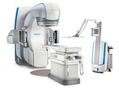 Varian's Edge Radiosurgery system will be featured at ESTRO 33.  (PRNewsFoto/Varian Medical Systems)