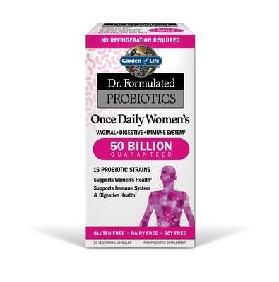 Dr, Formulated Probiotics www.gardenoflife.com