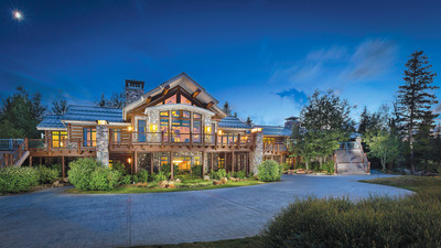 This 60-acre mountainside retreat in Big Sky, Montana will be sold at a live auction managed by Platinum Luxury Auctions on August 19, 2016. Known as the Big EZ Lodge, the property includes a 26-seat hot tub and 18-hole putting course. It was previously asking $24.5 million, but will now be sold to the highest bidder who meets or exceeds a bid of only $4 million. The property is being offered in cooperation with Montana real estate brokerage Realty Big Sky. Details at BigSkyLuxuryAuction.com.