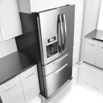 Maytag(R) Unveils The Industry's Most Energy Efficient Four-Door Refrigerator - Ice2O(R) Easy Access.  (PRNewsFoto/Whirlpool Corporation)