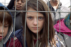 A scene from Save the Children's Still the Most Shocking Second a Day film, which imagines a young British girl fleeing war in the UK and embarking on a dangerous journey. Photo credit: Don't Panic for Save the Children.