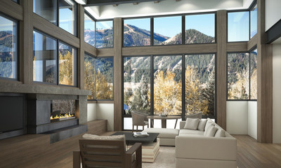 Thunder Spring Residences - Great Room Views of Sun Valley's Bald Mountain