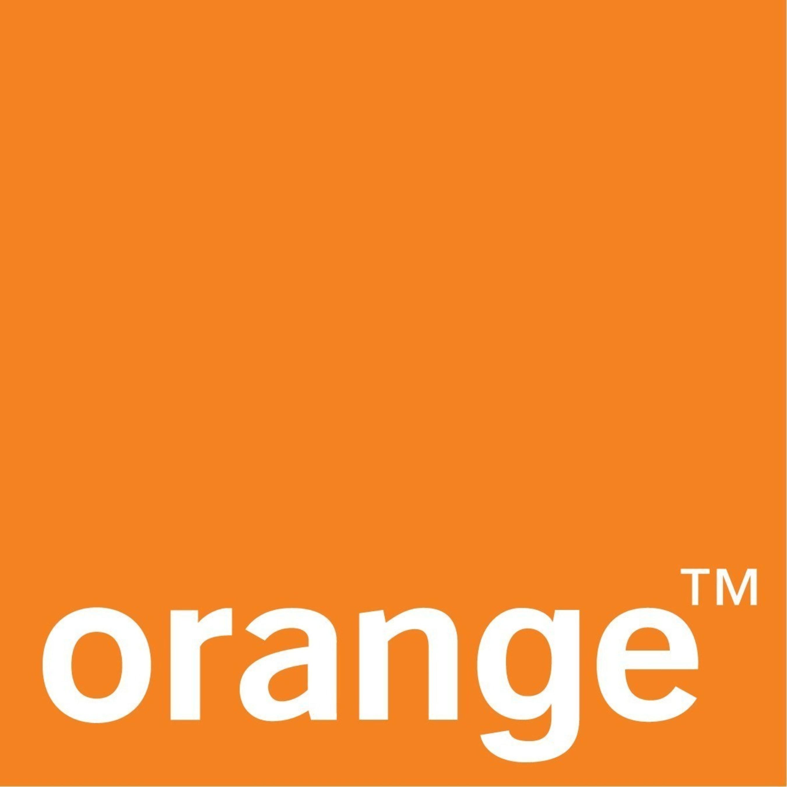 Orange Logo (www.orange.com, www.orange-business.com or www.livetv.orange.com)