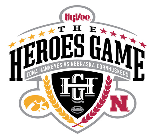 The Hy-Vee Heroes Game logo.  (PRNewsFoto/Hy-Vee, Inc.)