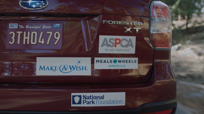 Subaru launches its eighth annual Share the Love campaign. From November 19, 2015 to January 2, 2016, Subaru will donate $250 for every new Subaru vehicle sold or leased to the customer's choice of charitable partners: ASPCA(R), Make-A-Wish(R), Meals on Wheels America, National Park Foundation or a hometown charity selected by participating retailers.