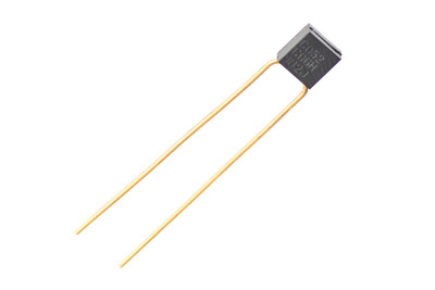 KEMET High Temperature Radial Molded Multilayer Ceramic Capacitors offer industry-leading performance in extreme high temperature environments up to 200 degrees Celsius. (PRNewsFoto/KEMET Corporation)