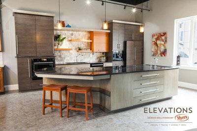 Elevations Design Solutions by Myers is the go-to inspirational, high-end showroom for the best in cabinetry, flooring, and window & door design.
