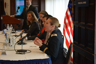 CNAS/WWP Panel talks about findings of 2015 annual WWP Alumni Survey