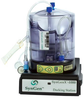 SynGenX-1000 System ready for Cord Blood Processing